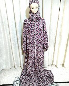 ثوب صلاة توتي مع سحاب