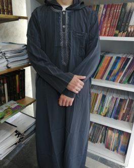 جلابية، قميص، رجالي مغربي مع قبعة